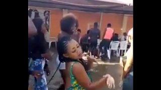 Naija University babes dancing nude